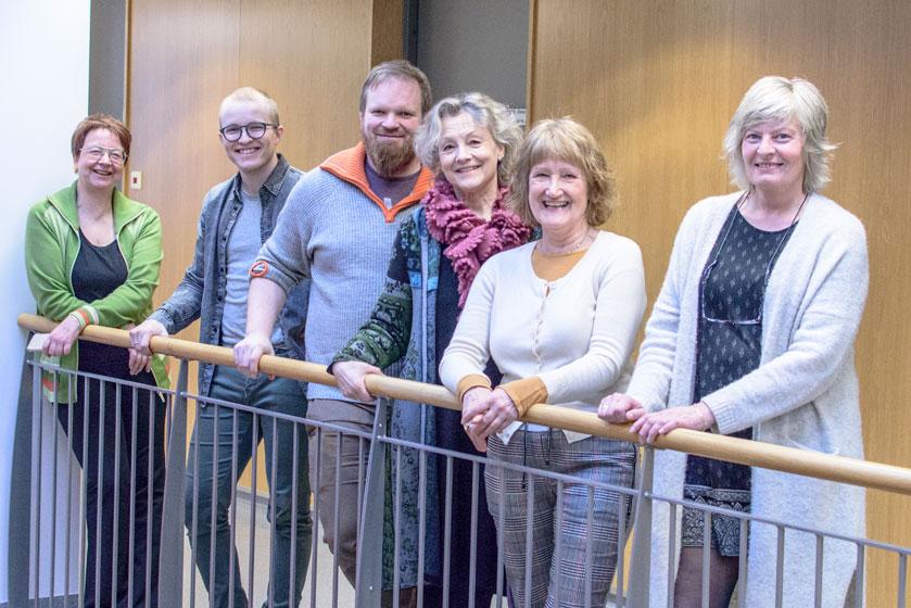 De ansatte i avdeling Gravdal i Lofoten